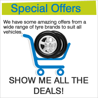Great deals on tyres, fully fitted.
