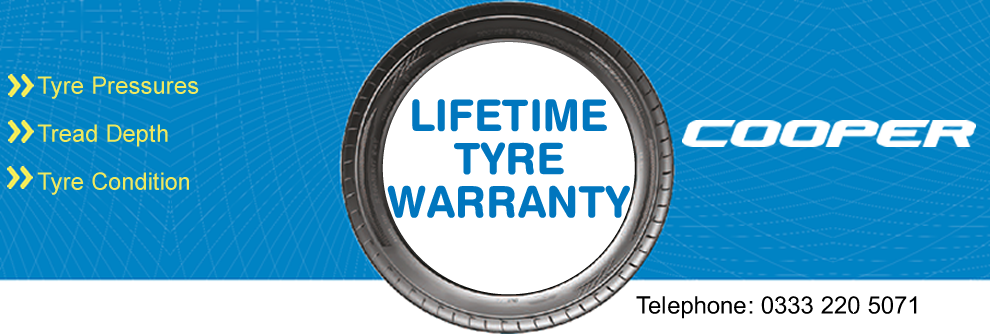 Lifetime Tyre Warranty