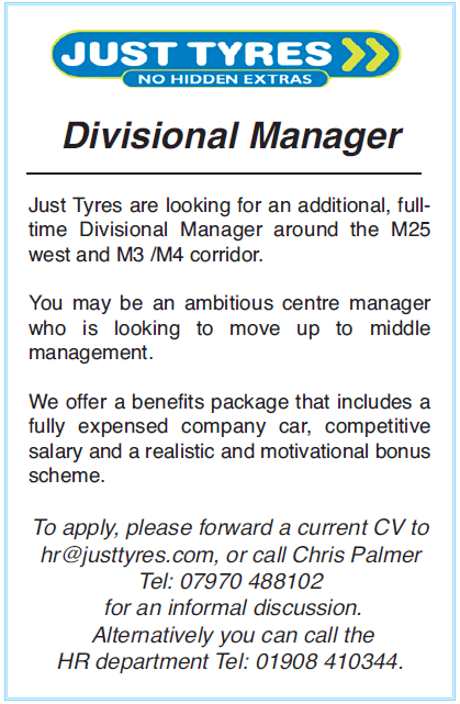 Divisional Manager