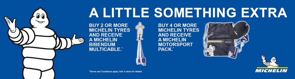 Michelin Tyre Banner Image