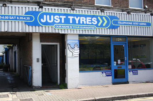 Just Tyres Potters Bar