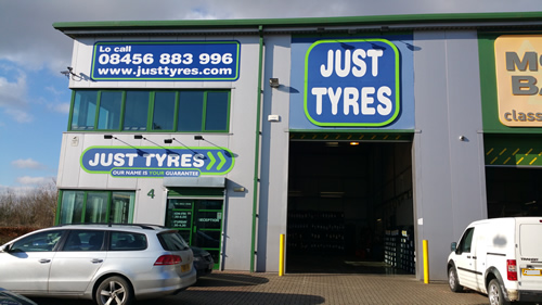 Just Tyres in Buckingham