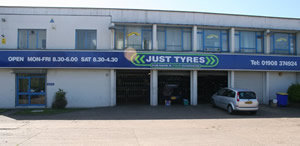 Just Tyres in Bletchley