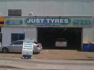Just Tyres in Guildford