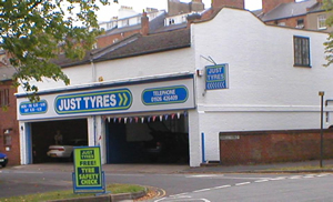 Just Tyres in Leamington Spa