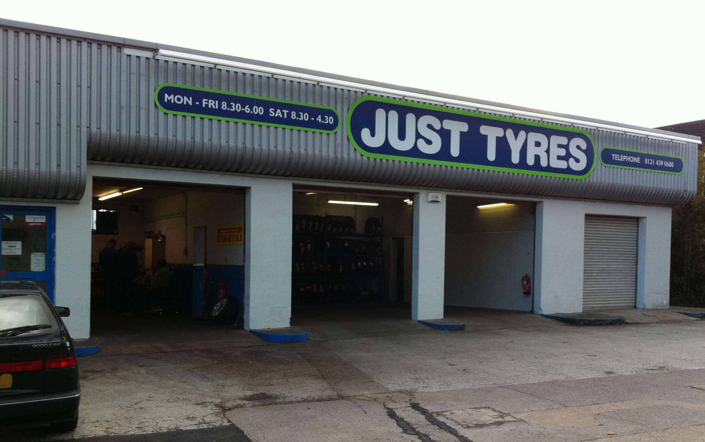 Just Tyres in Solihull