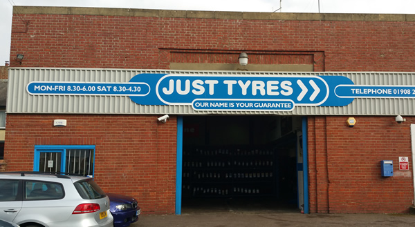 Just Tyres in Stony Stratford