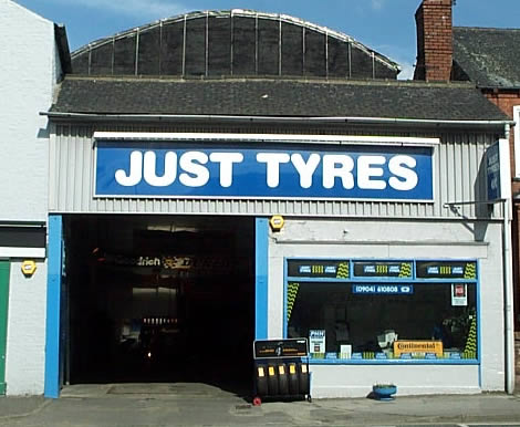 Just Tyres in York